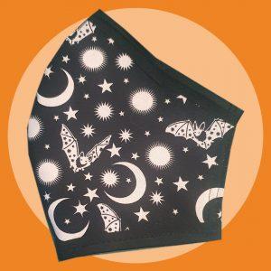 Bats & Moons Mask | PIRATESPIRIT
