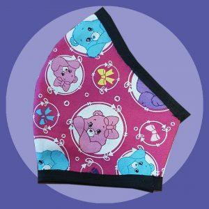 Pink Care Bears Face Mask | PIRATE SPIRIT