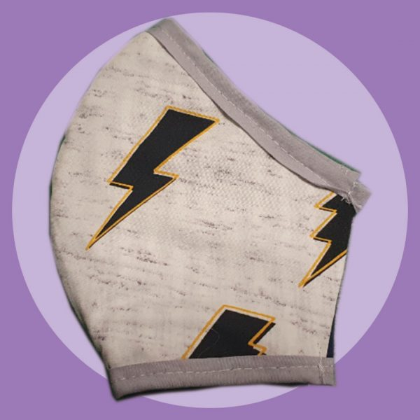 Like Lightning Mask | PIRATESPIRIT