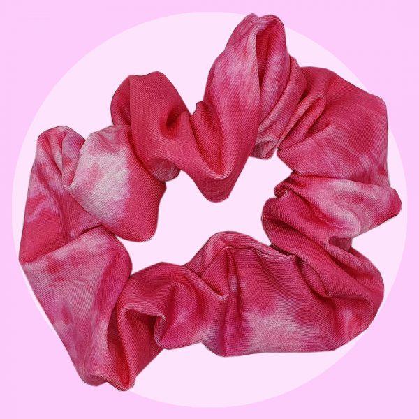 Pink Tie Dye Scrunchies | PIRATE SPIRIT