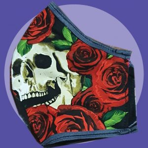 Rose Skull Mask | PIRATESPIRIT