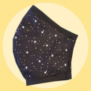 Starry Night Facemask | PIRATE SPRIT | Face masks made in Melbourne