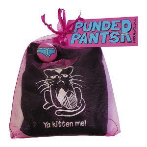 Ya Kitten Me! PunderPants | PIRATESPIRIT