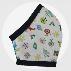 Presents xmas fitted face mask   PIRATE SPIRIT