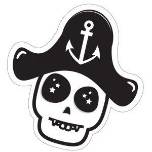 Captain Skully Stickers | PIRATE SPIRIT