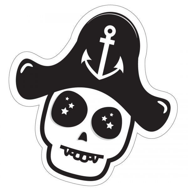 Captain Skully Stickers   PIRATE SPIRIT
