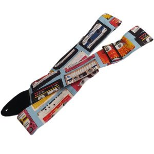 Mixtape Guitar Strap